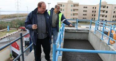 """""""الصرف الصحى"""" بالإسكندرية: تنفيذ استراتيجية لخدمة المناطق الريفية المحرومة"""