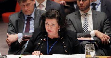 مندوبة بريطانيا لدى مجلس الأمن: استخدام الأسلحة بشكل عشوائى فى إدلب جريمة حرب