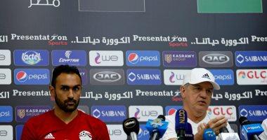 أجيرى يطلب من هانى رمزى تقريرا عن مباراة تونس والنيجر