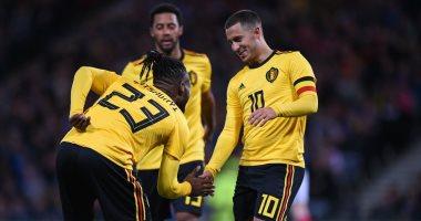 بلجيكا تكتسح اسكتلندا برباعية استعدادا لدورى الأمم الأوروبية.. فيديو