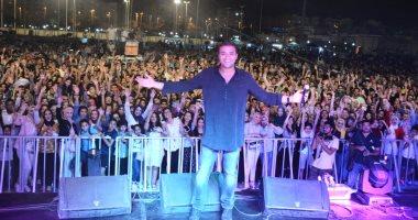 رامى صبرى يتألق فى أقوى حفلات الصيف بحضور الشباب