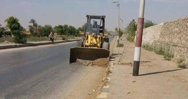 تحرير 23 محضر إشغال ونظافه بمركز المنيا