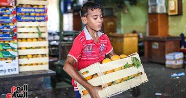 """صورة اليوم.. ياما فى """"سوق العبور"""" جدعان"""