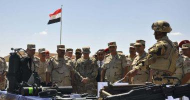 صور.. انطلاق مناورات النجم الساطع بقاعدة محمد نجيب العسكرية بمشاركة 25 دولة