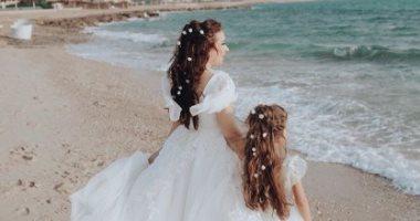 شاهد.. أول صور لزفاف أسما شريف منير ومحمود حجازى