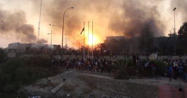 السيطرة على حريق فى حقل زلطن النفطى بليبيا