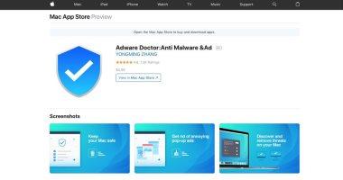 أبل تزيل Adware Doctor من متجرها بعد اتهامه بالتجسس