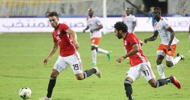 فيديو..  صلاح محسن يسجل هدف منتخب مصر الرابع أمام النيجر