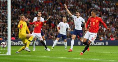 ملخص وأهداف فوز إسبانيا على إنجلترا 2 – 1 فى دورى الأمم الأوروبية