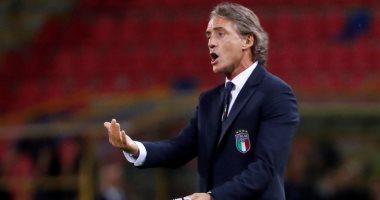 مانشينى مدرب إيطاليا يعلن تعافيه من فيروس كورونا