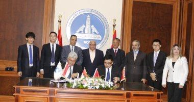شراكة استراتيجية بين هندسة عين شمس وشركة صينية لإنشاء واحة تكنولوجية بالعبور