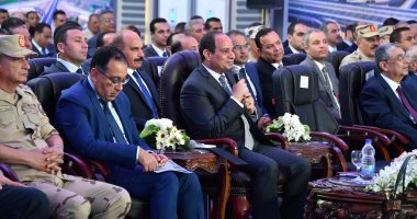 السيسي يفتتح الدائرى الإقليمى وعددًا من مشروعات الطرق