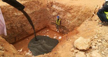 ننشر أول صور لبدء تنفيذ مشروع الربط الكهربائى مع السودان