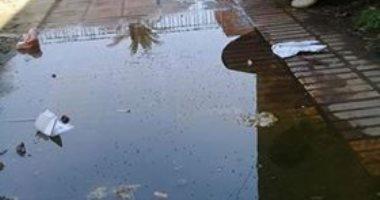 مياه الصرف الصحى تغرق الشهر العقارى بفيشا بنا فى الدقهلية