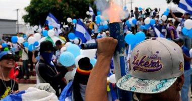 صور..الآلاف يتظاهرون فى نيكاراجوا للمطالبة برحيل الرئيس أورتيجا