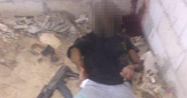 أول صور للعملية الأمنية الناجحة لاستهداف وكر 11 إرهابيا بالعريش