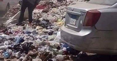 شكوى من انتشار القمامة بمنشية السد العالى بجسر السويس