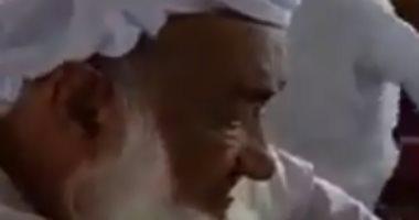 """رغم بلوغه 95 عاماً.. مسن إماراتى يدخل """"عش الزوجية"""" للمرة الثالثة.. فيديو"""
