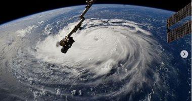 شاهد كيف يبدو شكل الإعصار من الفضاء .. صور