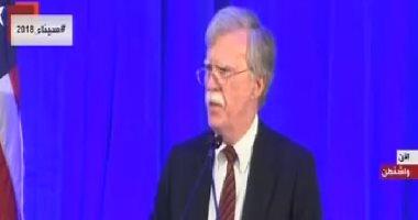 فيديو.. مستشار الأمن القومى الأمريكى: لن نتعاون مع المحكمة الجنائية الدولية
