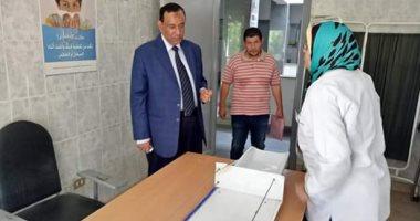رئيس مدينة الباجور بالمنوفية يحيل 16 موظف للتحقيق لغيابهم عن العمل.. صور