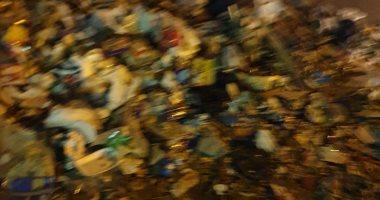 قارئ يشكو انتشار القمامة بمنطقة وادى النيل بالمهندسين