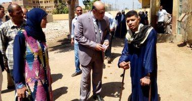رئيس مركز مغاغة بالمنيا يتابع أعمال الصيانة بعدد من المدارس
