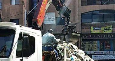 صور.. حملة مكبرة لرفع القمامة والمخلفات بشوارع المنتزة بالإسكندرية