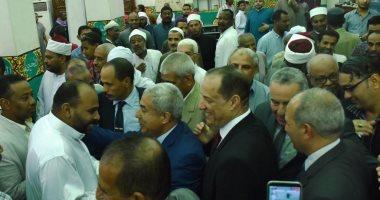 محافظ أسوان يحضر احتفالية العام الهجرى الجديد وسط أهالى وقيادات المحافظة