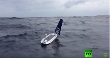 شاهد..النرويج تنجح فى إنتاج قارب صغير موجه يعبر المحيط الأطلسى