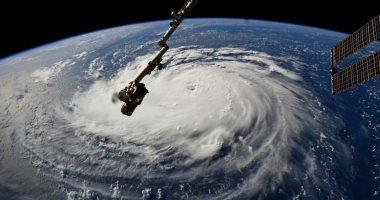 """شاهد.. الإعصار """"فلورنس"""" من محطة الفضاء الدولية"""