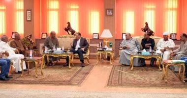 محافظ الشرقية : إفتتاح  كلية للأثار بمنطقة صان الحجر خلال أيام