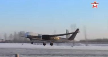 """شاهد """"الطائر"""".. أضخم طائرة بلا طيار روسية الصنع"""