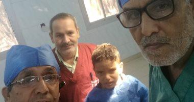 نجاح أول عملية تجميل بمستشفى مركزى لطفل عمره 10 سنوات بالشرقية