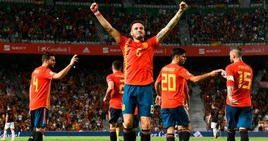 فيديو.. إسبانيا تخصص فوز بـ6 أهداف أمام وصيف بطل كأس العالم