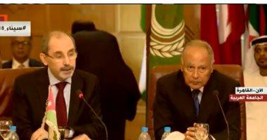 بث مباشر .. اجتماع وزراء الخارجية العرب بمدير وكالة غوث