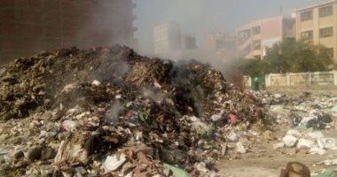 تحويل أرض مجمع مدارس إلى مقلب قمامة بشارع العشرين فى فيصل