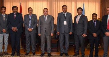 محافظ الإسكندرية يستقبل وفدا هنديا من رجال الأعمال خلال زيارتهم لمصر