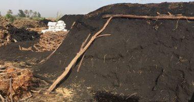 أهالى قرية العدل بالبحيرة يشكون تصاعد الأدخنة بسبب مكامير الفحم