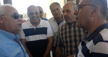 وفد من رجال الأعمال الأردنيين يلتقى محافظ بورسعيد