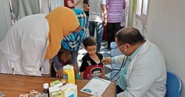 """صور.. مستقبل وطن بالشرقية ينظم قافلة طبية مجانية بقرية """"الشبانات"""""""