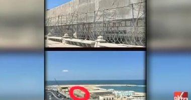 رئيس الإدارة المركزية للسياحة يكشف حقيقة بناء سور بطول كورنيش الإسكندرية