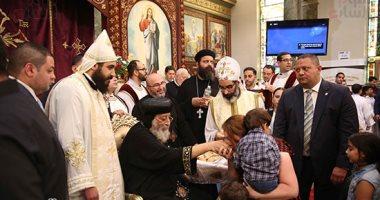 البابا تواضروس من أمريكا: مصر تتغير فى عهد السيسى وأخبارها تصلكم كاذبة