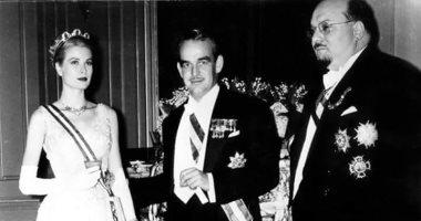 شاهد من هى جريس كيلى راعية ابن الملك فاروق الأول؟