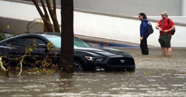 إعصار فلورنس يجتاح  الساحل الشرقي للولايات المتحدة