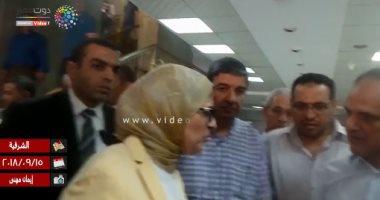 وزيرة الصحة تأمر بإغلاق وحدة الغسيل الكلوى فى مستشفى ديرب نجم