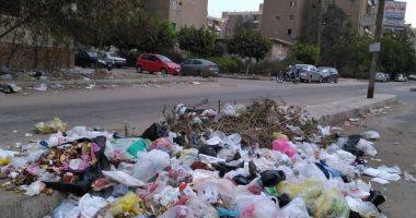 القمامة تحاصر مساكن ضباط زهراء مدينة نصر
