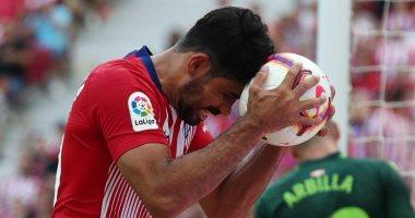 كوستا مهدد بالغياب عن أتلتيكو مدريد ضد بايرن ميونخ فى دورى الأبطال