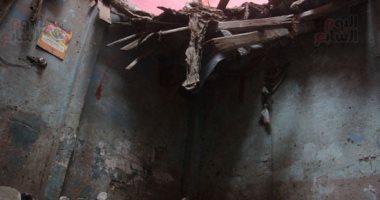 مصرع وإصابة 4 أشخاص فى انهيار جدار منزل بأسيوط
