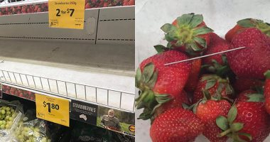 ولاية أسترالية تعرض مكافأة مقابل معلومات عن مصدر إتلاف فراولة
